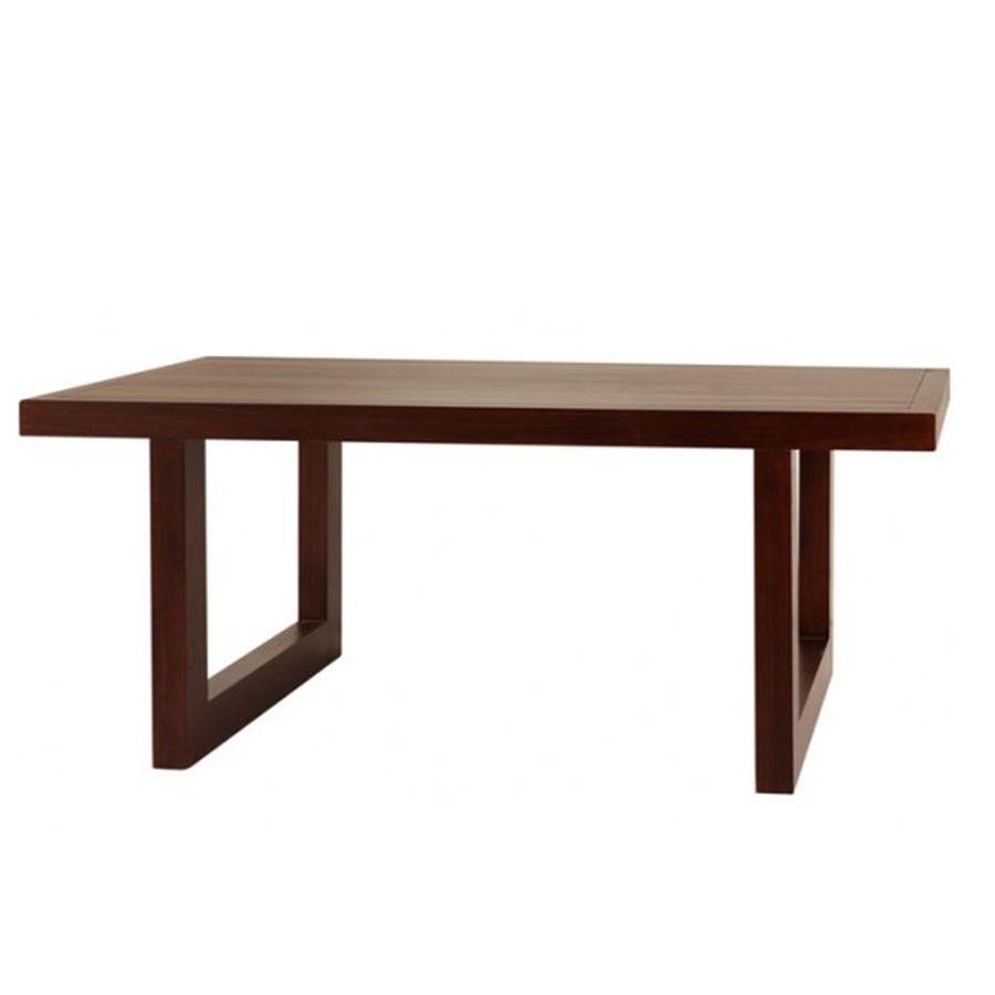 Mesas de comedor de madera maciza top mesa de comedor for Mesa madera comedor