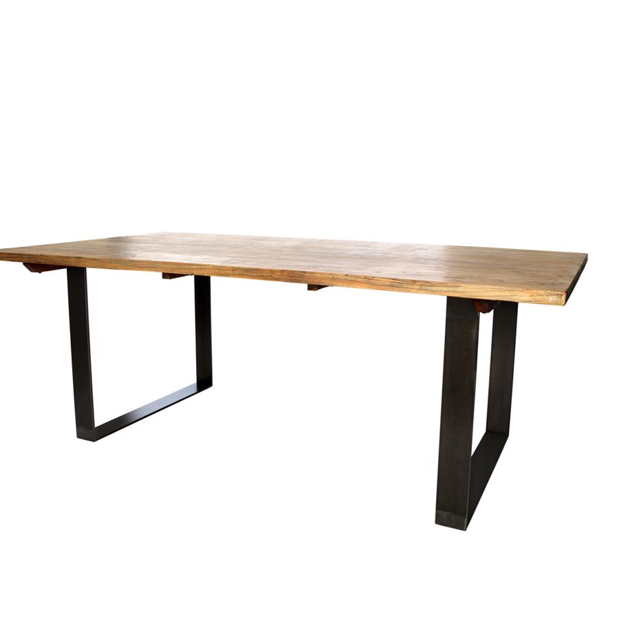 mesa de comedor madera reciclada