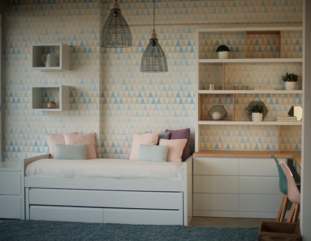 Ambiente dormitorio juvenil el globo muebles - El globo muebles madrid ...