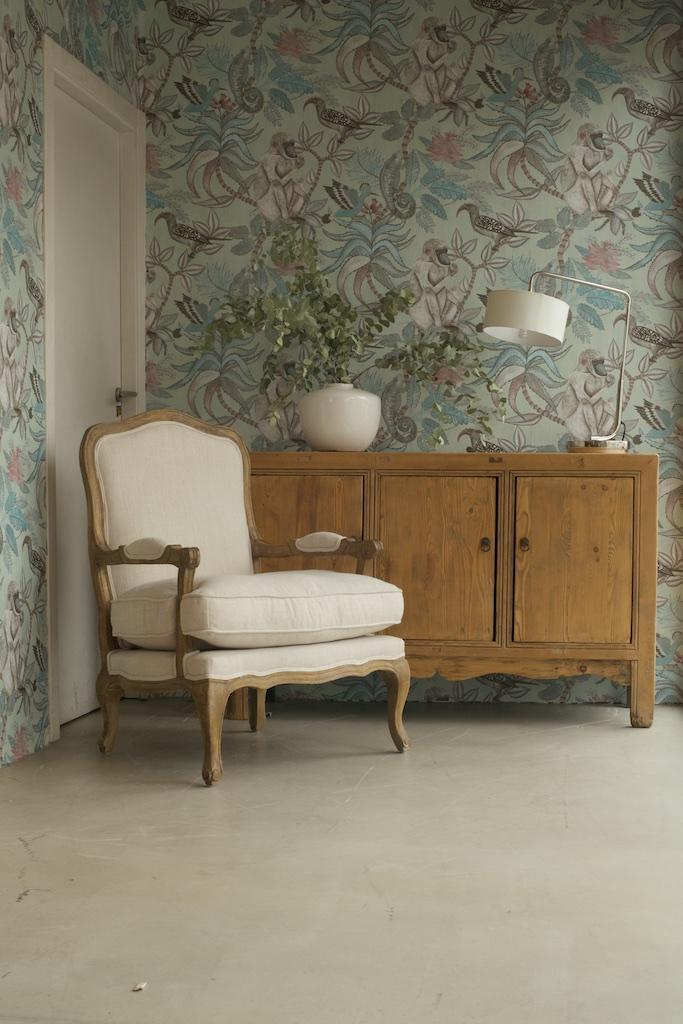 Papel de pared de fauna y flora el globo muebles - Papel para muebles ...