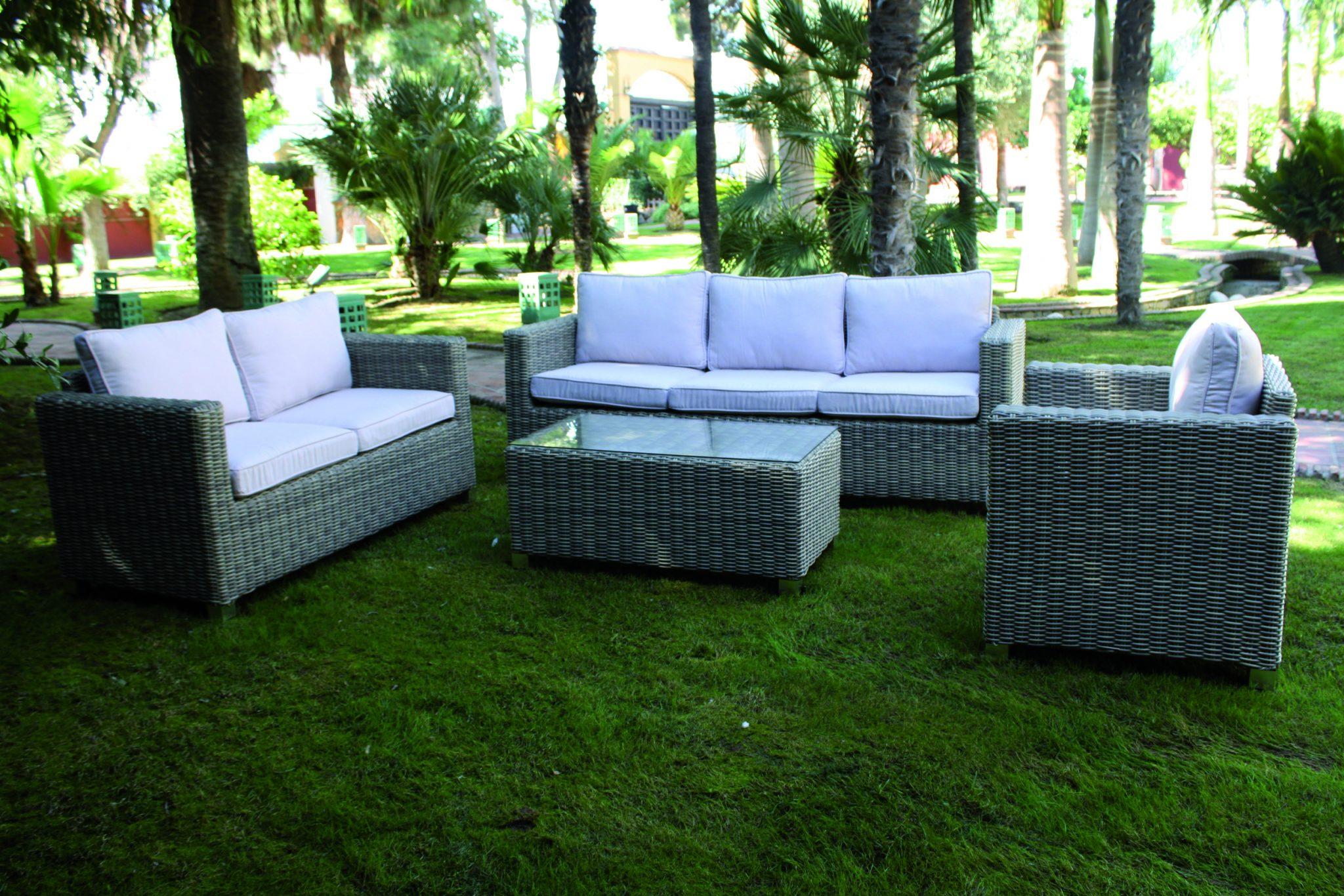 Sof para exterior modelo notta el globo muebles for Sofas para exterior