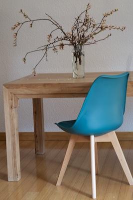 Silla soft turquesa el globo muebles - Sillas turquesa ...
