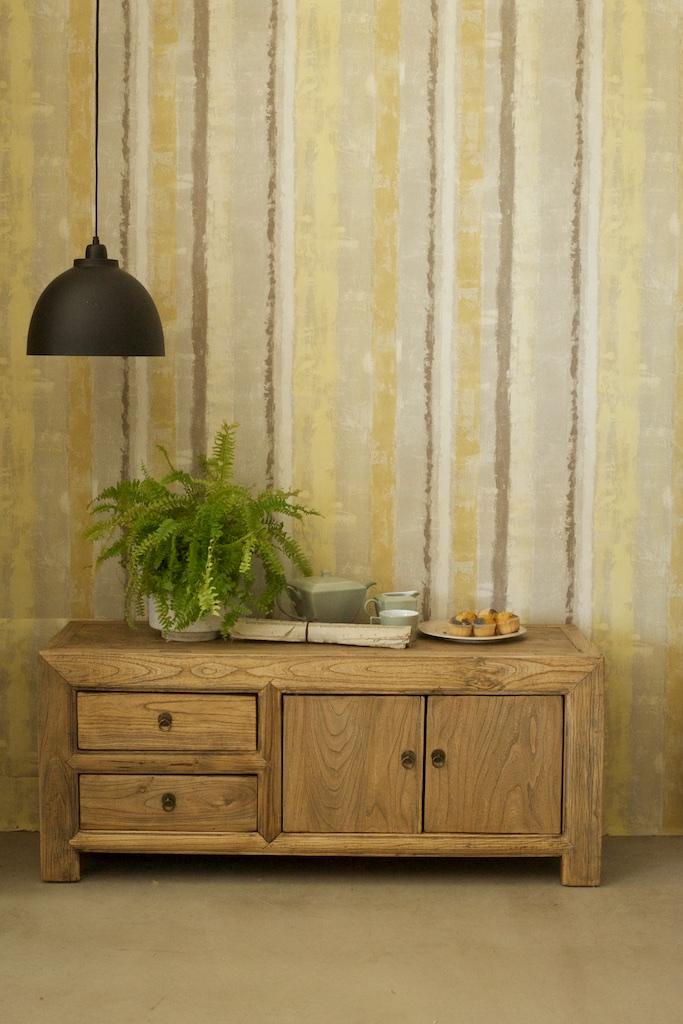 Aparador bajo en madera reciclada el globo muebles for Diseno de muebles con madera reciclada